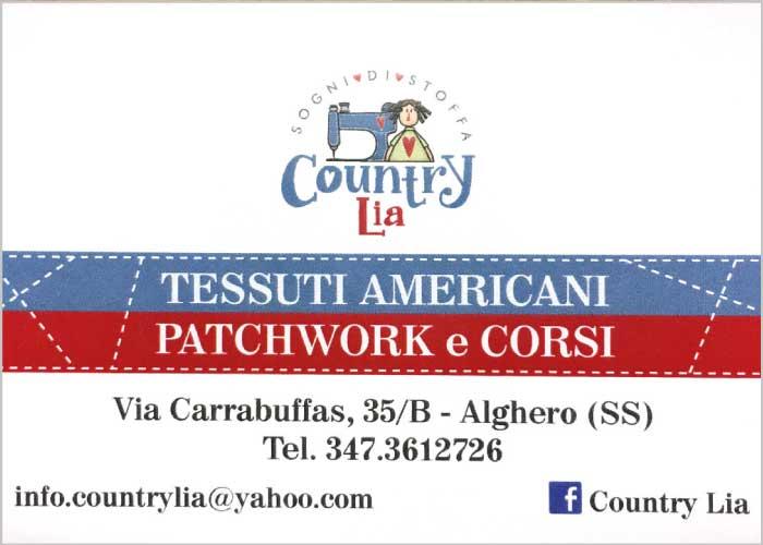 Country Lia: tessuti americani, patchwork e corsi