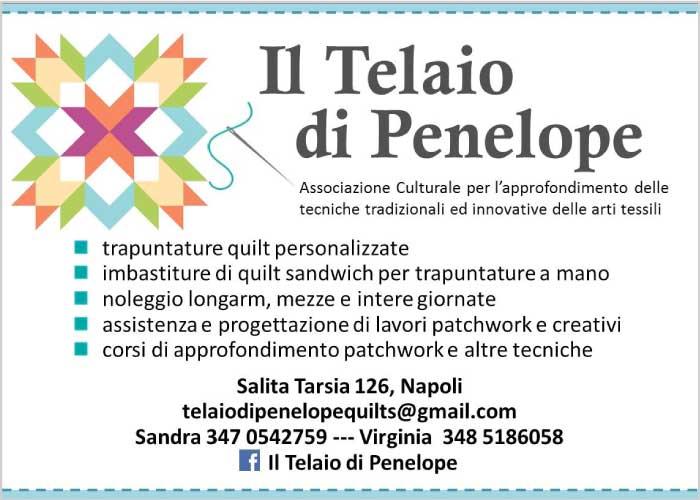 Il Telaio di Penelope - Quilt, patchwork e cucito creativo