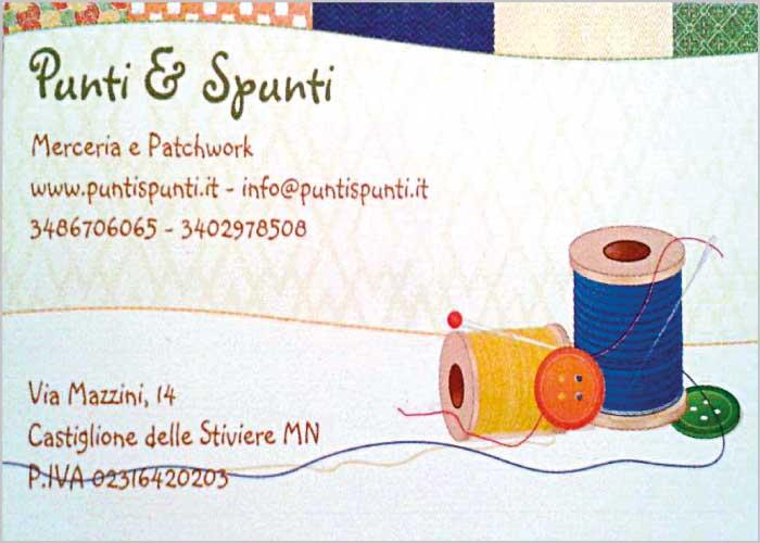 Punti & Spunti - merceria e patchwork