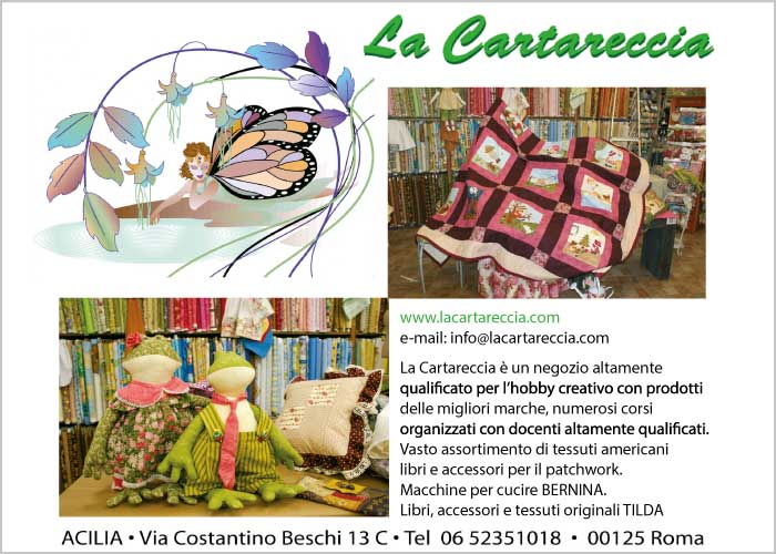 La Cartareccia - hobby creativo, accessori patchwork