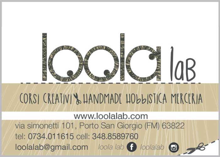 Loola Lab - Corsi creativi, handmade, hobbistica, merceria