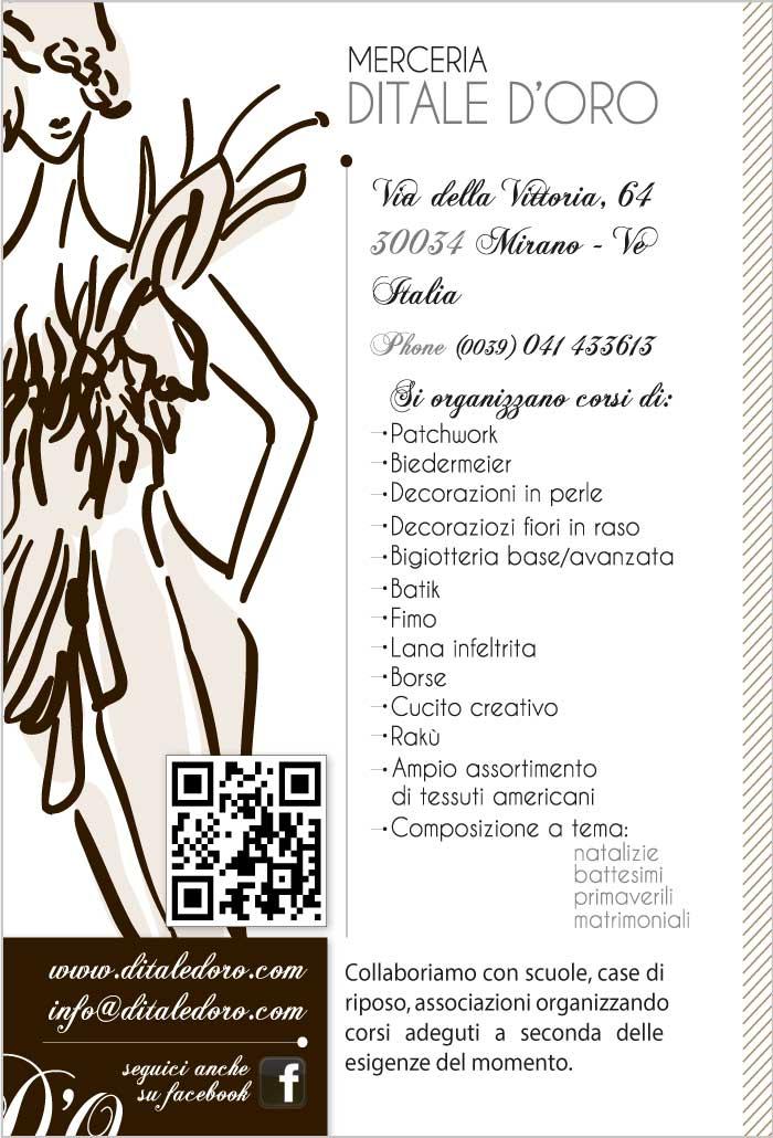 Merceria ditale d'oro - patchwork, cucito creativo, decorazioni, bigiotteria