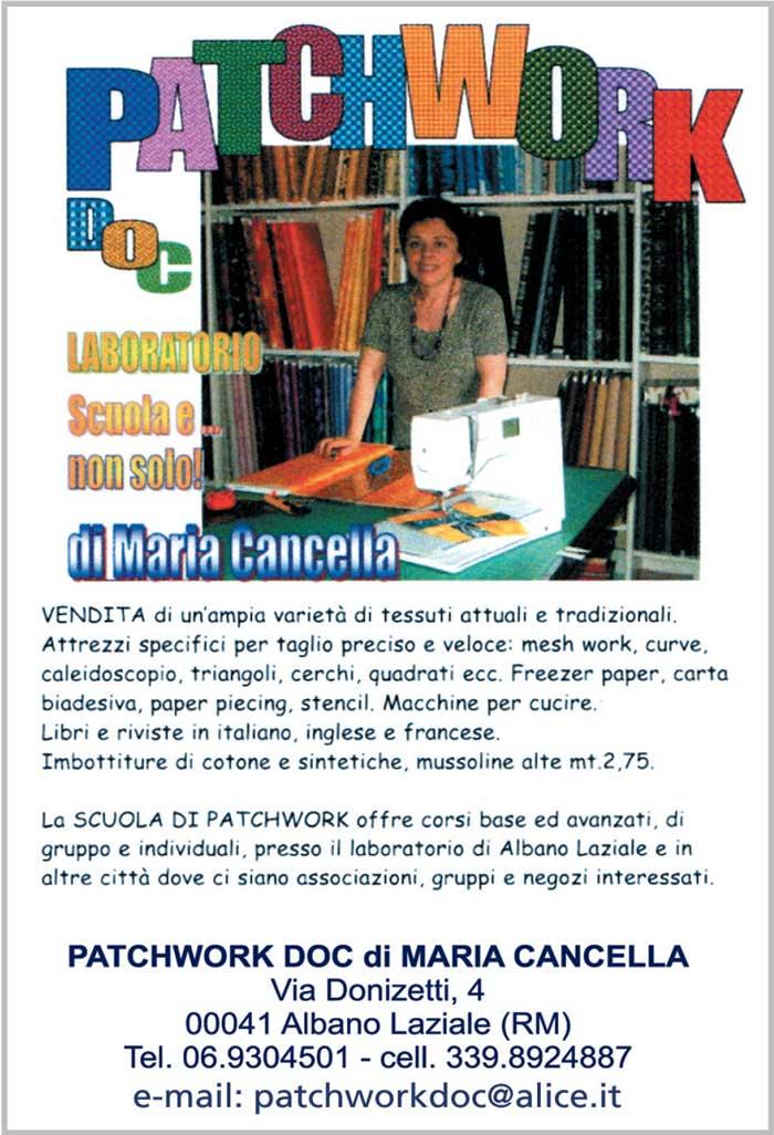 Patchwork Doc di Maria Cancella