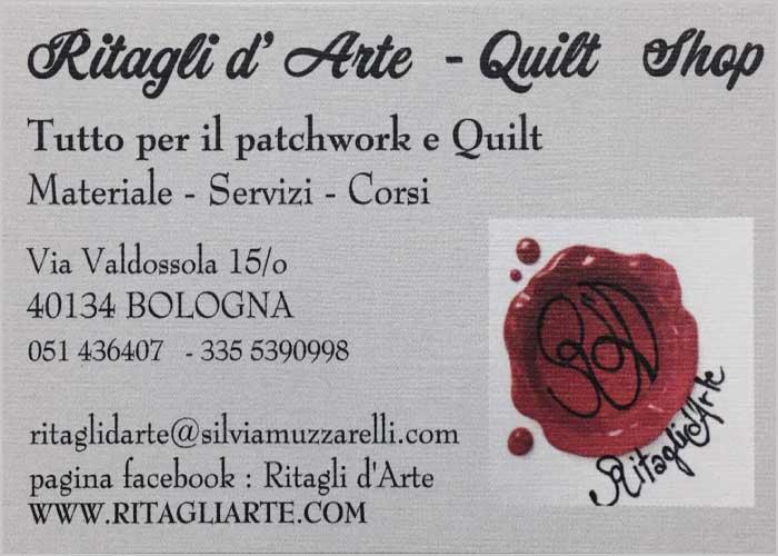 Ritagli d'Arte - Quilt Shop - patchwork, quilt, corsi