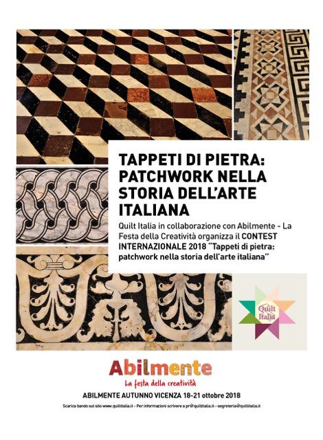 Contest 2018: Tappetti di pietra patchwork nella storia dell'arte italiana